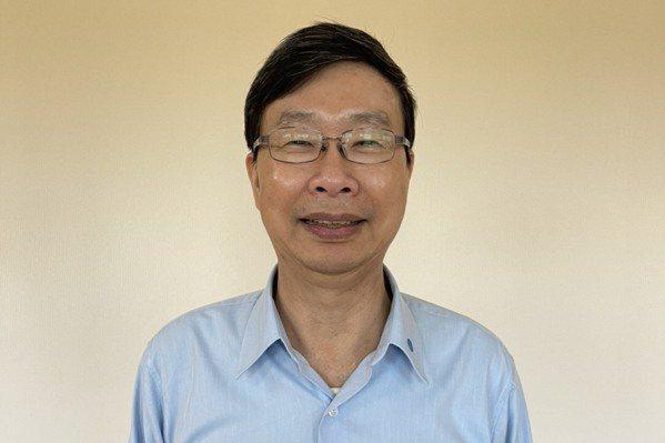 中鋼構董事長陳火坤 。記者林政鋒╱攝影