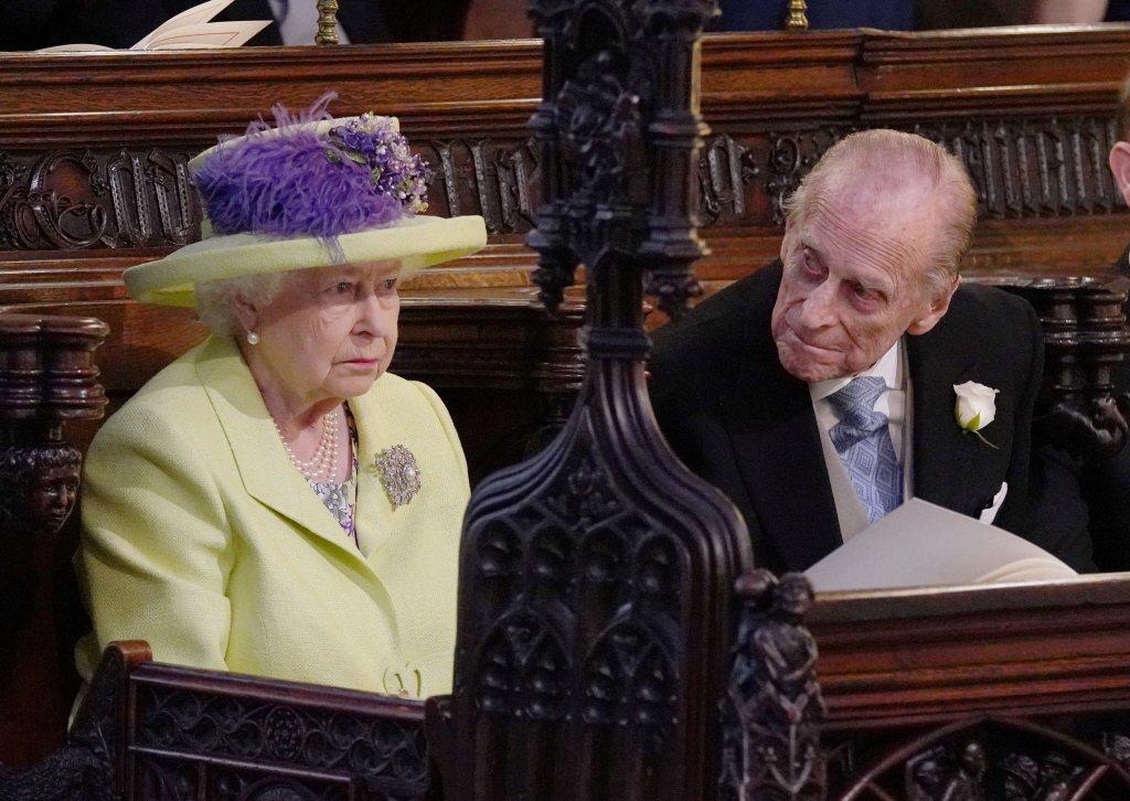 伊莉莎白二世女王與丈夫菲利普親王準備面對孫媳帶來的新風暴。圖/路透資料照片
