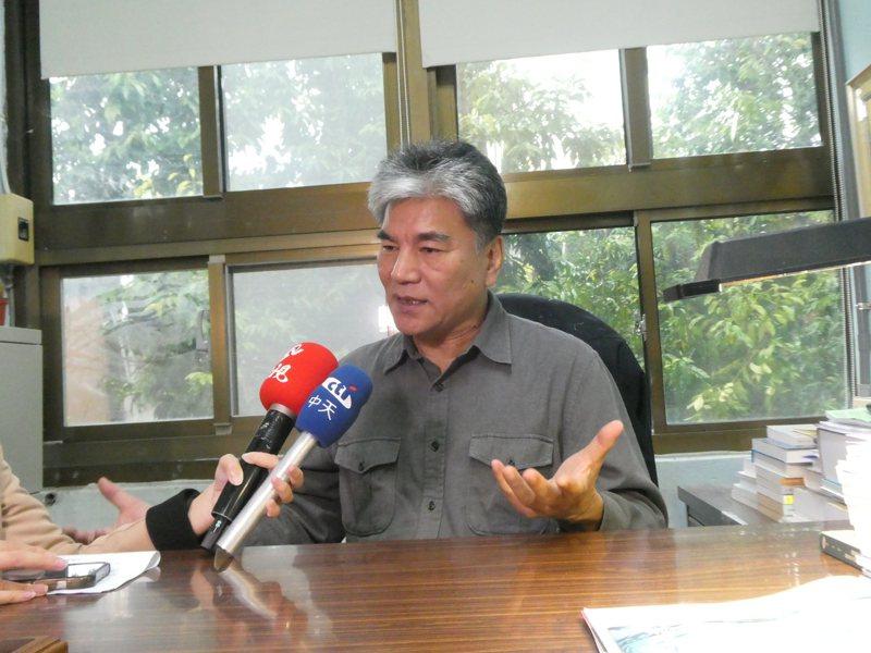 內政部前部長李鴻源。記者周志豪/攝影