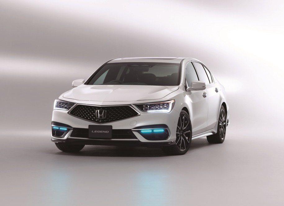 搭載Honda SENSING Elite的Honda Legend限量100台...
