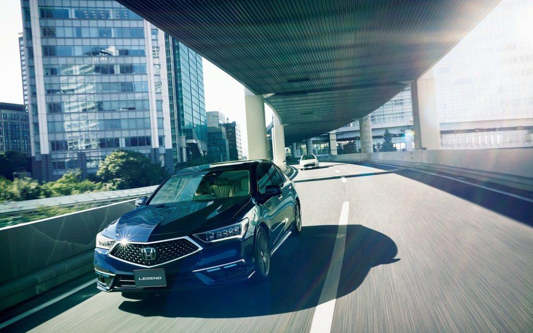Honda Legend成為世界第一輛量產Level 3認證車款。 摘自Hond...