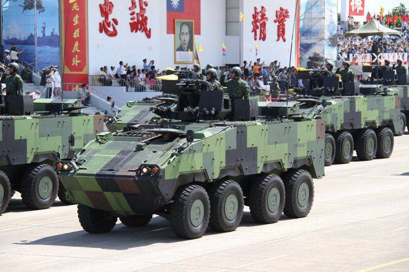 國防部軍備局生產製造中心於3月5日公告一項「剎車卡鉗碟片組第一軸等3項」標案,履約時間為110年2月17日至110年8月16日。據了解,這項金屬產品零件標案主要用來維修國軍首批生產的「CM-32」及「CM-33」雲豹甲車,預計今年底前完成這批雲豹甲車維修案。記者洪哲政/攝影