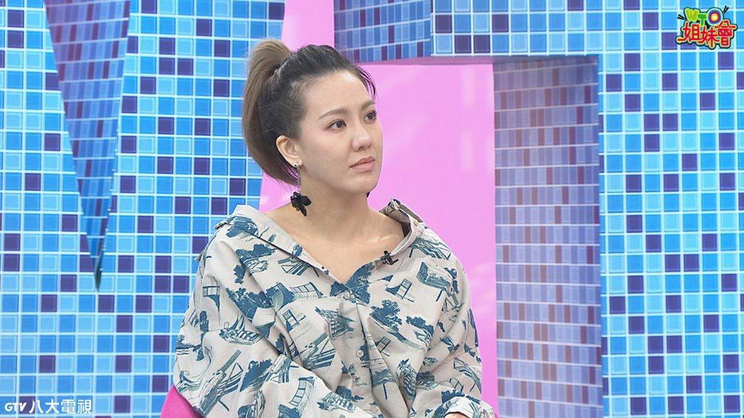 劉雨柔透露媽媽曾對老公有點成見。圖/八大提供