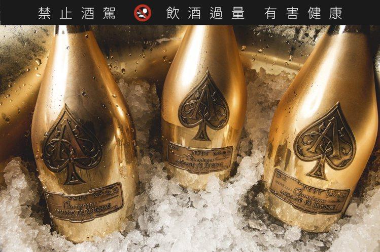 黑桃王香檳來自法國香檳區數百年歷史的Cattier酒莊。圖/摘自Armand d...