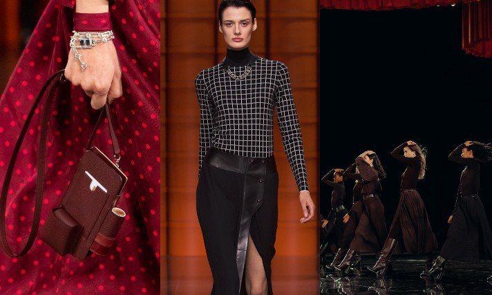 愛馬仕發表了2021秋冬女裝系列,改以紐約、巴黎、上海「三地串連」的直播方式呈現...