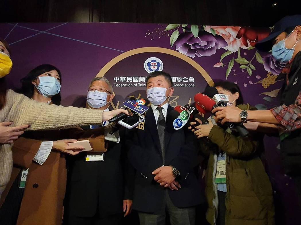 指揮中心指揮官陳時中今出席藥師團體活動。記者楊雅棠/攝影
