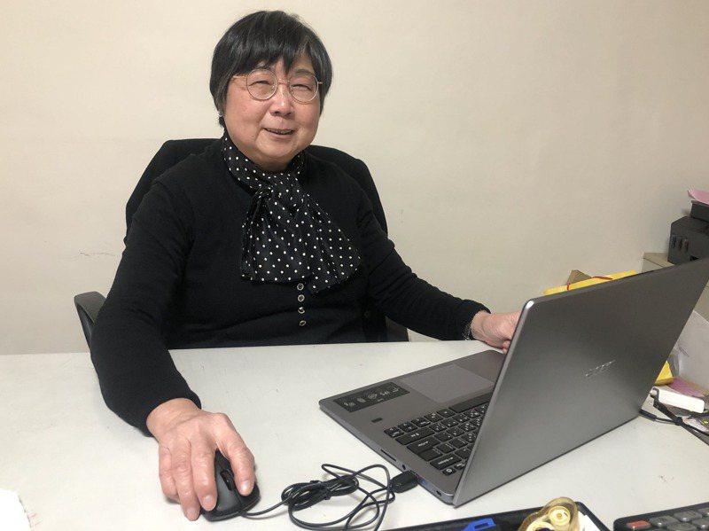 李錦梅曾在中科院任職17年,再赴美攻讀計算碩士,回台後因緣際會創立專為女性更生人的中途之家「怡心園」,6年多來服務100多名個案。記者曾健祐/攝影