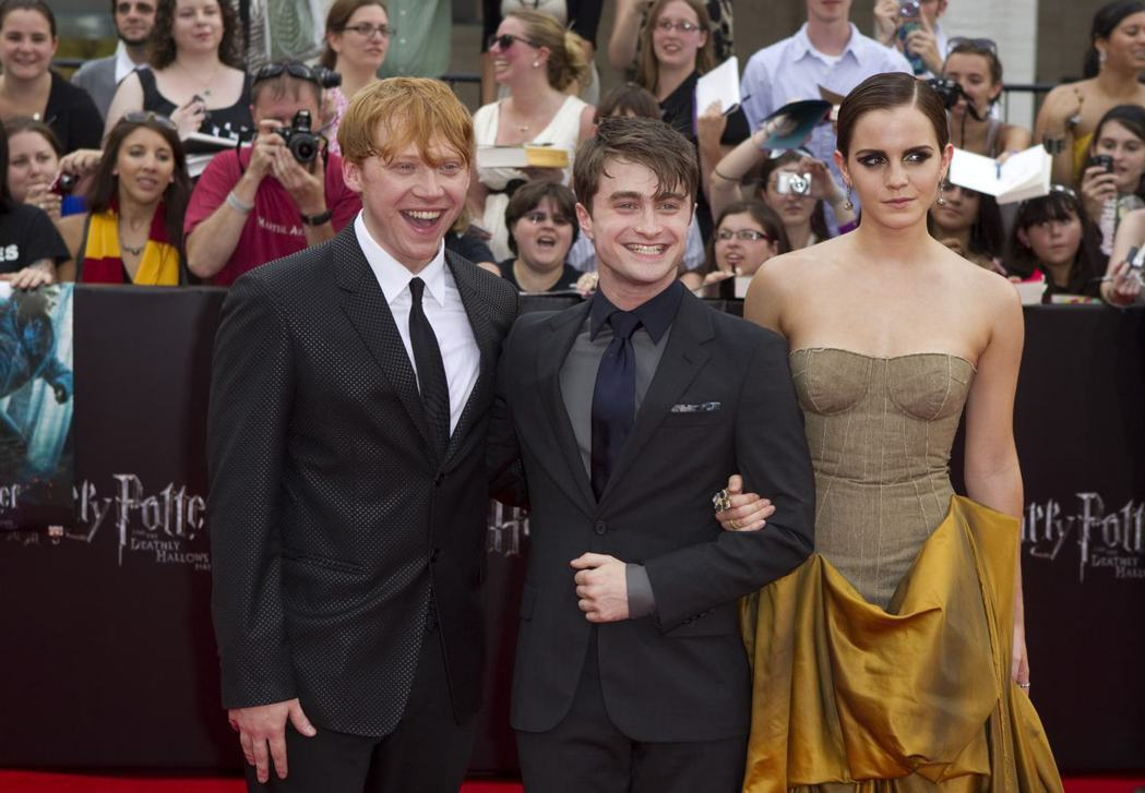 「哈利波特」原班主角3人組,極有可能被撮合再攜手演續集。圖/路透資料照片