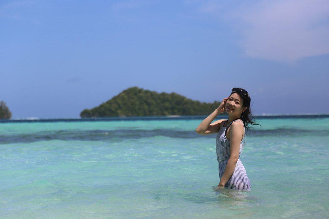 帛琉以美麗海景著稱,到帛琉就是悠閒浮潛、玩水,旅遊品質很好。圖/聯合報系資料照片