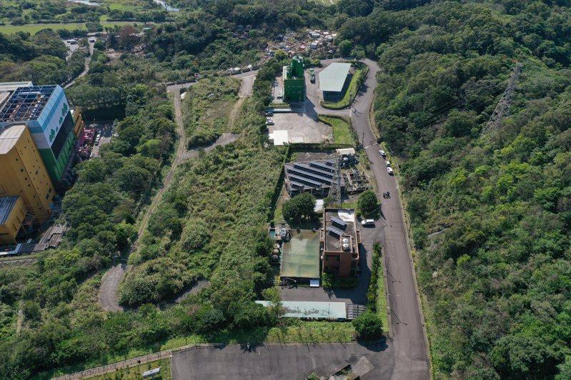 新北市府預計在樹林焚化廠旁設置廢棄物處理資源中心,處理焚化底渣,引發地方疑慮。圖/新北環保局提供
