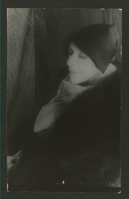 凱倫·白烈森(Karen Blixen)筆名伊莎·丹尼森(Isak Dinesen)。(圖/紐約公共圖書館The New York Public Library 提供)