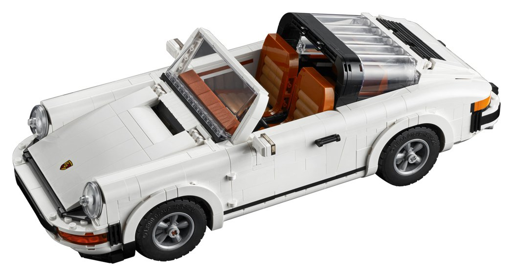 典Targa固定防滾架(Targa bar)。 圖/LEGO提供