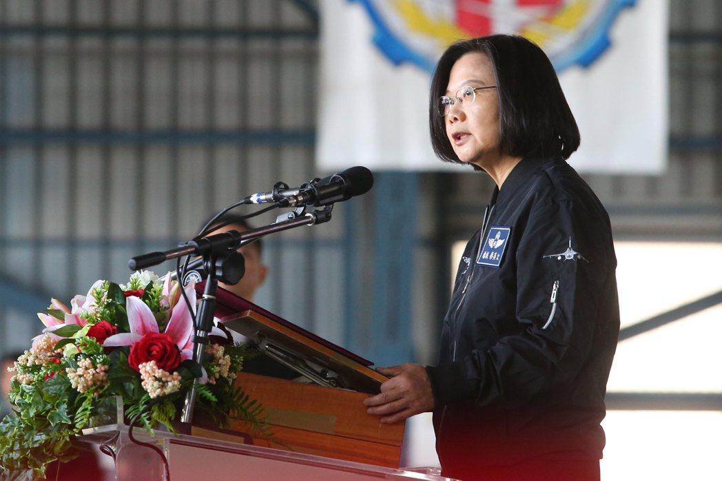 台灣總統蔡英文。 圖/聯合報系資料照片