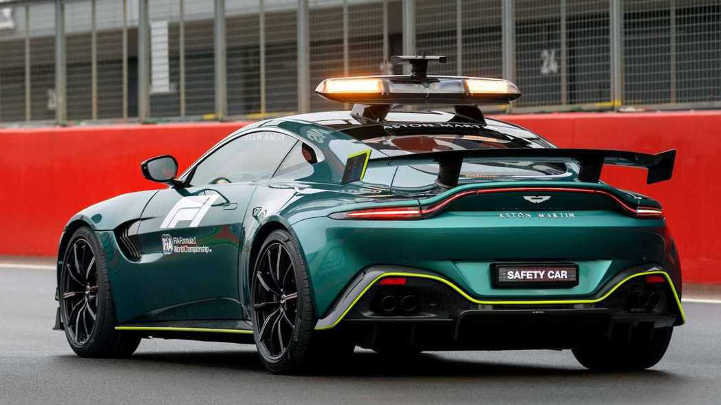 Aston Martin Vantage Safety Car。 圖/Aston...