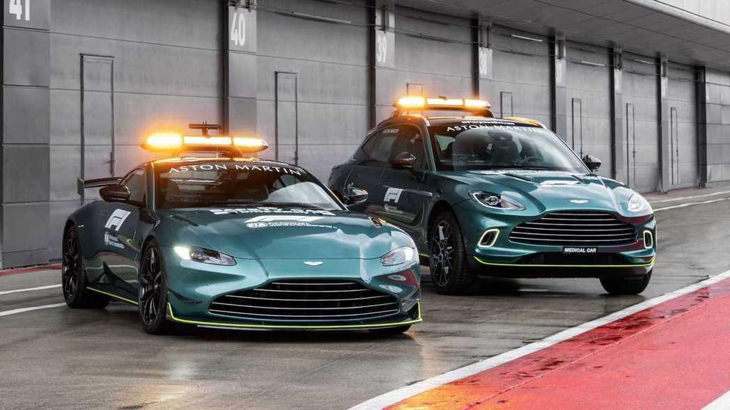 Aston Martin今年將擔任F1賽事安全/醫療車。 圖/Aston Mar...