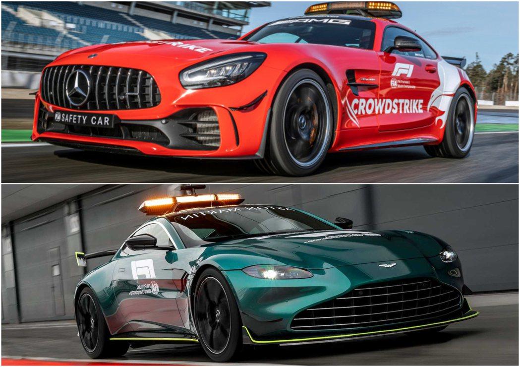 今年Mercedes-AMG將與Aston Martin共同擔任賽事安全車。 圖...
