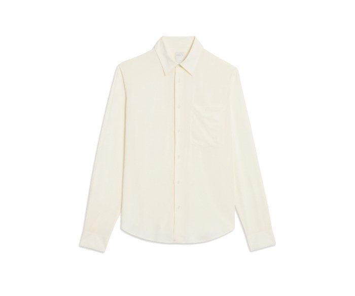 SANDRO HOMME白色襯衫/價格店洽。圖/微新聞提供