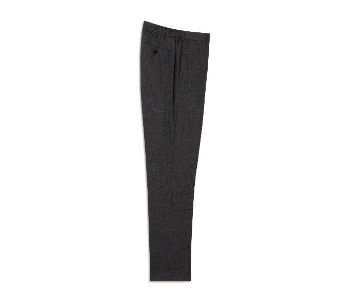 SANDRO HOMME黑色西裝褲/價格店洽。圖/微新聞提供