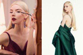沒有仙女駕馭不了的顏色!安雅泰勒喬伊紅毯美穿Dior莓果紫、寶石綠禮服,變身精靈公主
