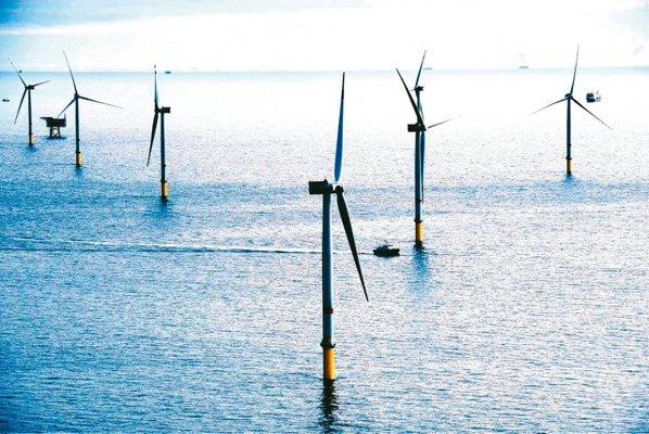 台灣的離岸風電商機龐大,外商磨刀霍霍。(本報系資料庫)