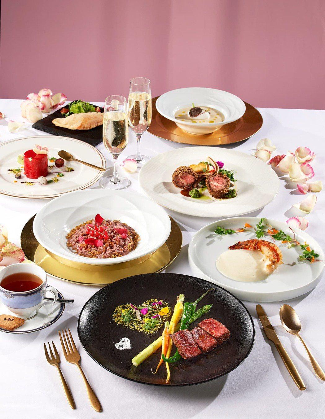 GMT義大利餐廳推出「我擁有你」情人節套餐。業者/提供