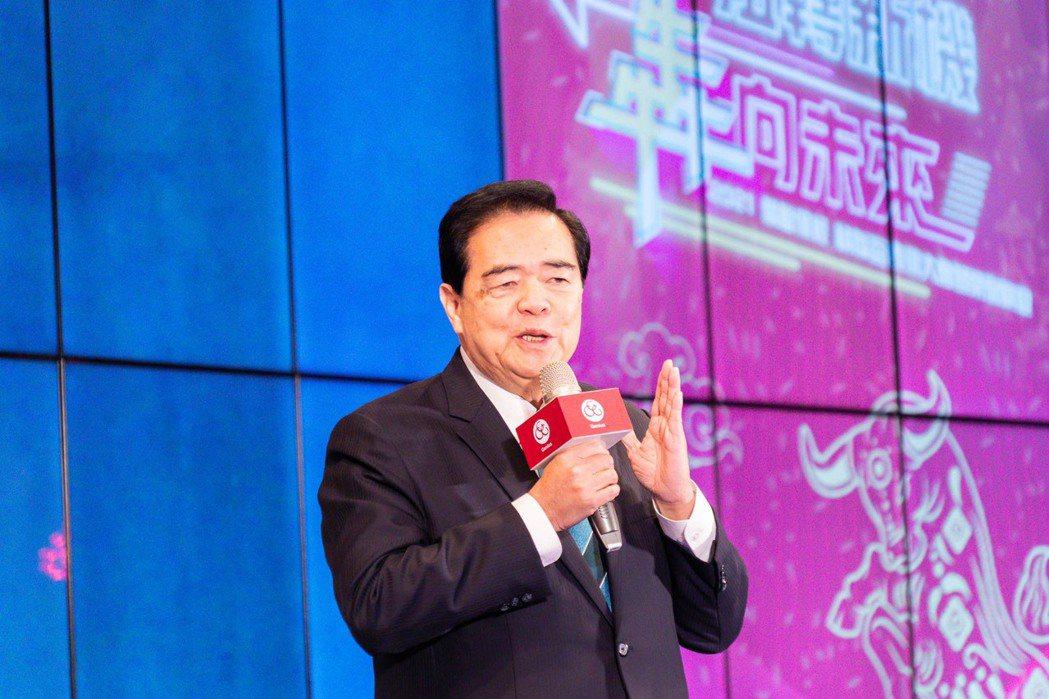 精聯保經總經理朱曉龍在頒獎大會致詞。 精聯保經/提供