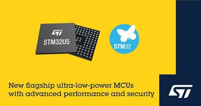 意法半導體推出具備先進性能與網路安全性的STM32U5超低功耗微控制器。 意法半...