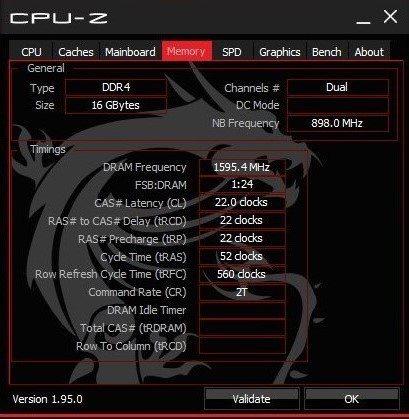 記憶體16GB(8GB×2)DDR4-3200,可升級至64GB。 彭子豪/攝影