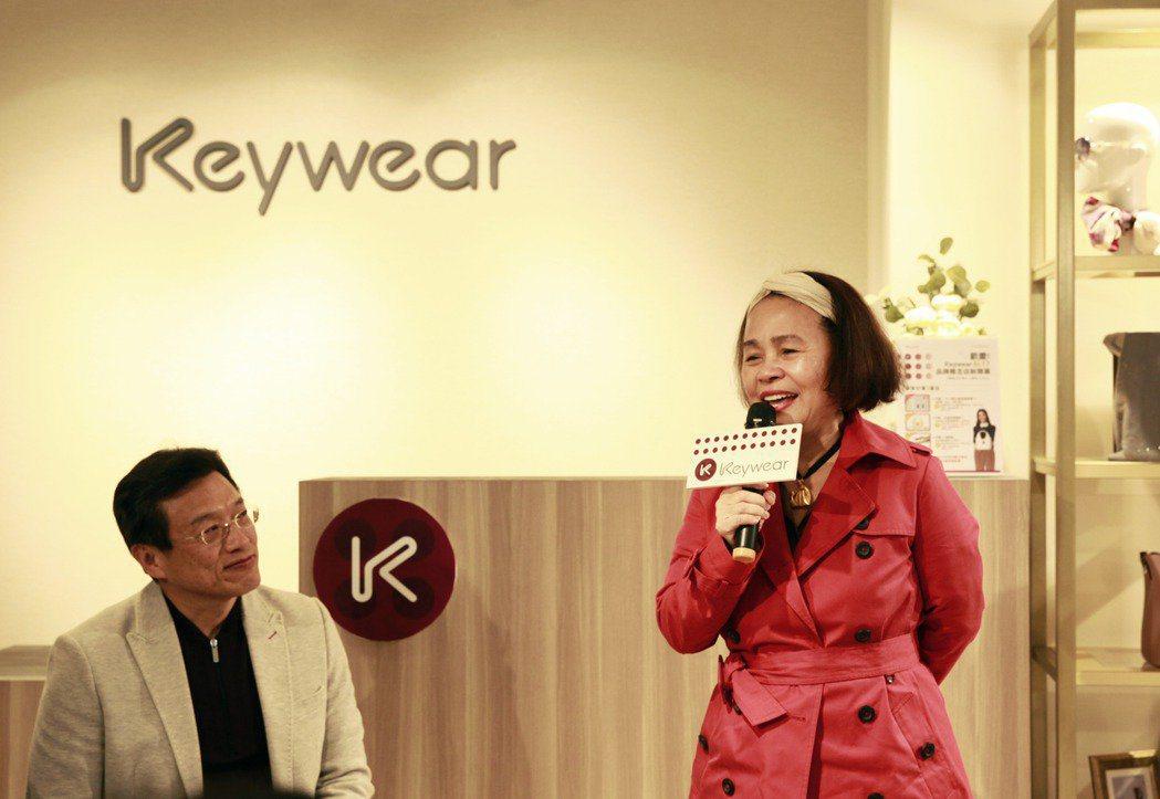 奇威Keywear近年著手打造新的品牌識別,從內而外,對內持續深化商品品質與內涵...