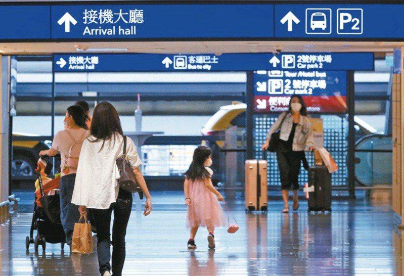 交通部上週預告修正「航空器飛航作業管理規則」,首度將機組員於機上或國外執勤時違反防疫規定納入民航法開罰,預計近日正式實施。圖為機場出入境大廳。 圖/聯合報系資料照