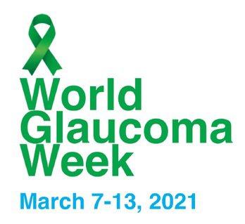 今年世界青光眼周的象徵提醒物為綠絲帶。圖/呂大文提供