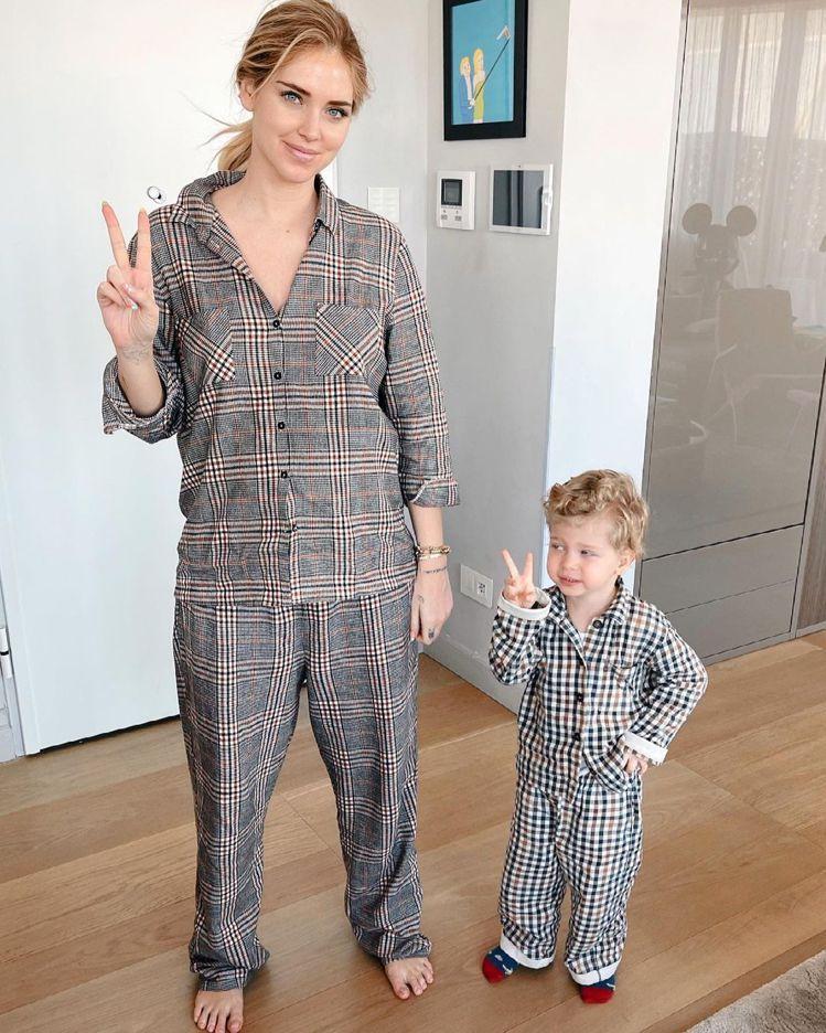 Chiara Ferragni的兒子Leo是人氣王。圖/摘自IG