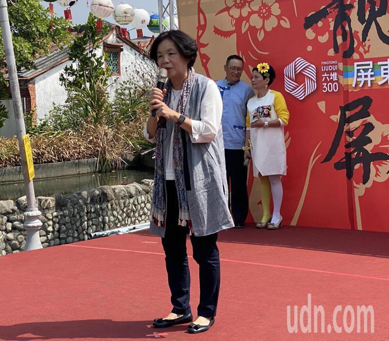 屏東縣副縣長吳麗雪是屏東縣首位女性副縣長。記者劉星君/攝影
