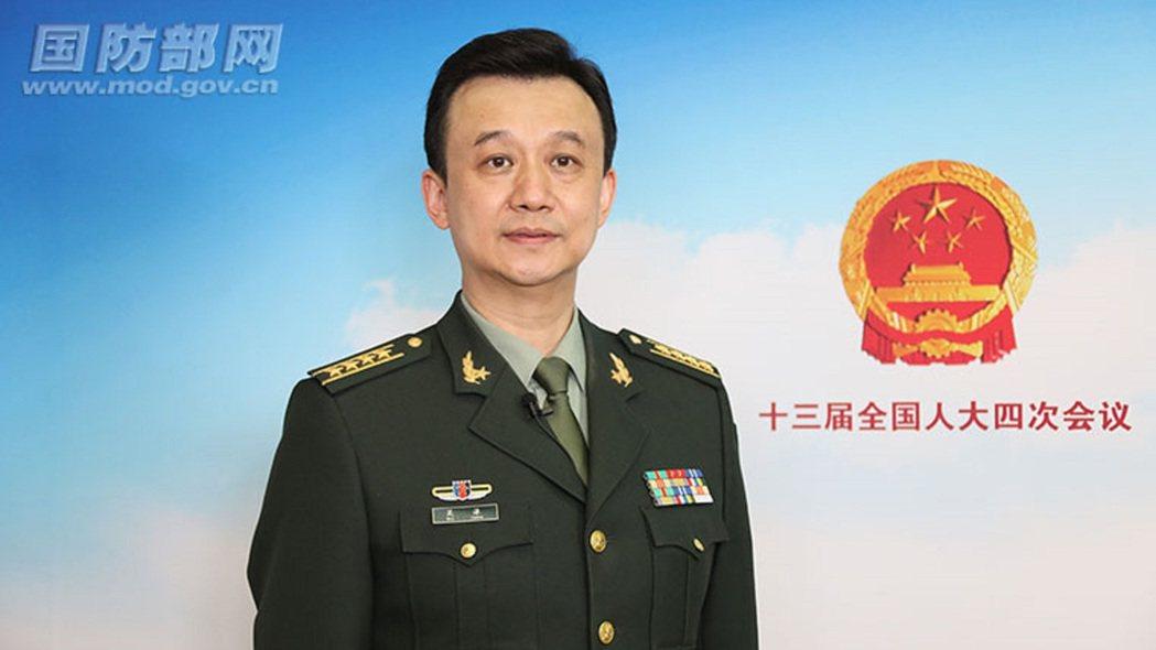 大陸全國人大解放軍和武警部隊代表團發言人吳謙。(大陸國防部官網)