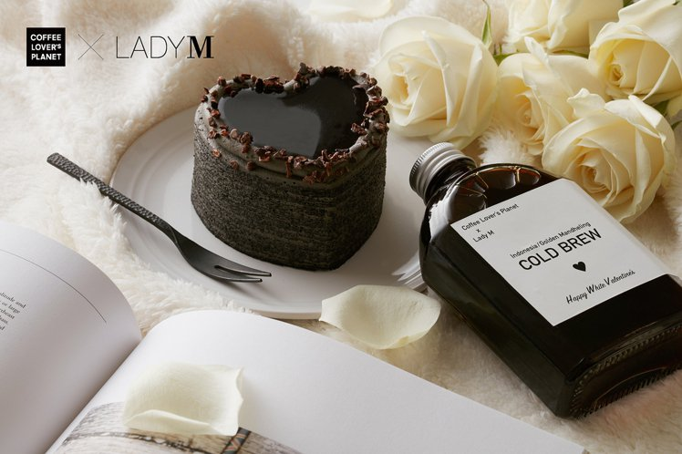 Lady M與COFFEE LOVER's PLANET推出白色情人節...