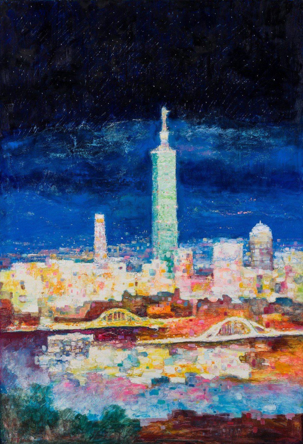 台北的流星雨由愛爾麗集團董事長常如山得標。圖/台南知事官邸生活館提供