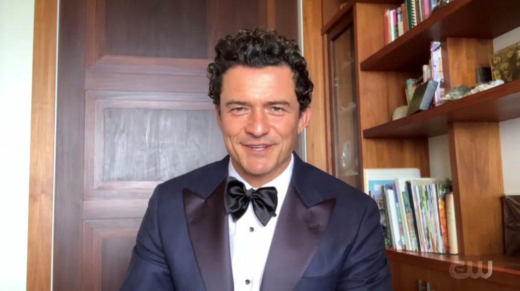 奧蘭多布魯參加美加廣電影評人協會大獎頒獎典禮。(路透)