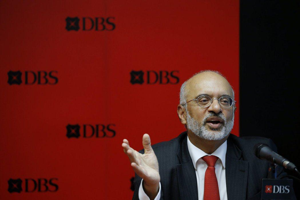 星展(DBS)執行總裁高博德2020年總獎酬遭大砍24%。    路透
