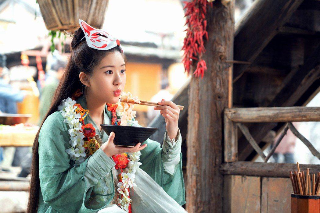 趙露思演出「三千鴉殺」。圖/緯來戲劇台提供