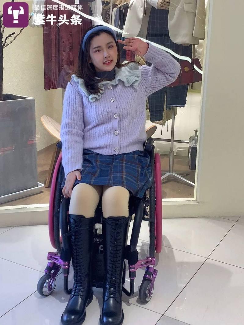 孫晨璐成為一名時尚網紅。(紫牛新聞)