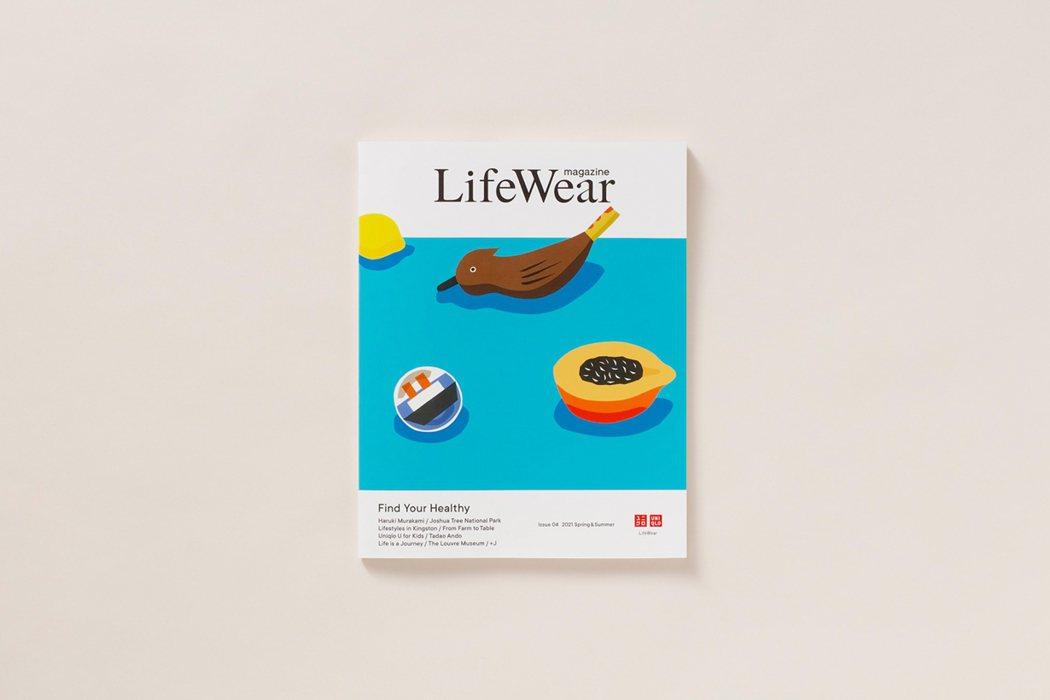 第4期《LifeWear magazine》封面為插畫藝術家安西水丸(Anzai...