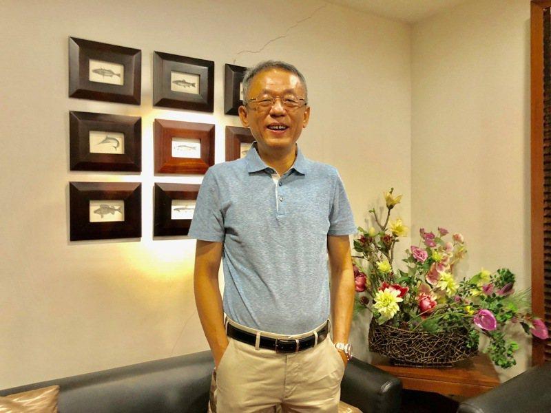 圖為智崴董事長歐陽志宏。報系資料照