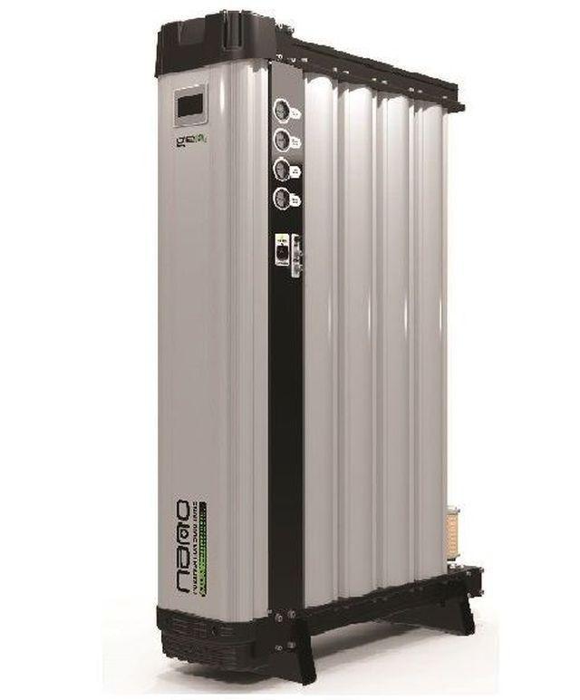 聯興空氣系統公司引進符合歐盟食品級認證-英國NANO模組變頻式氮氣機。 聯興空氣...