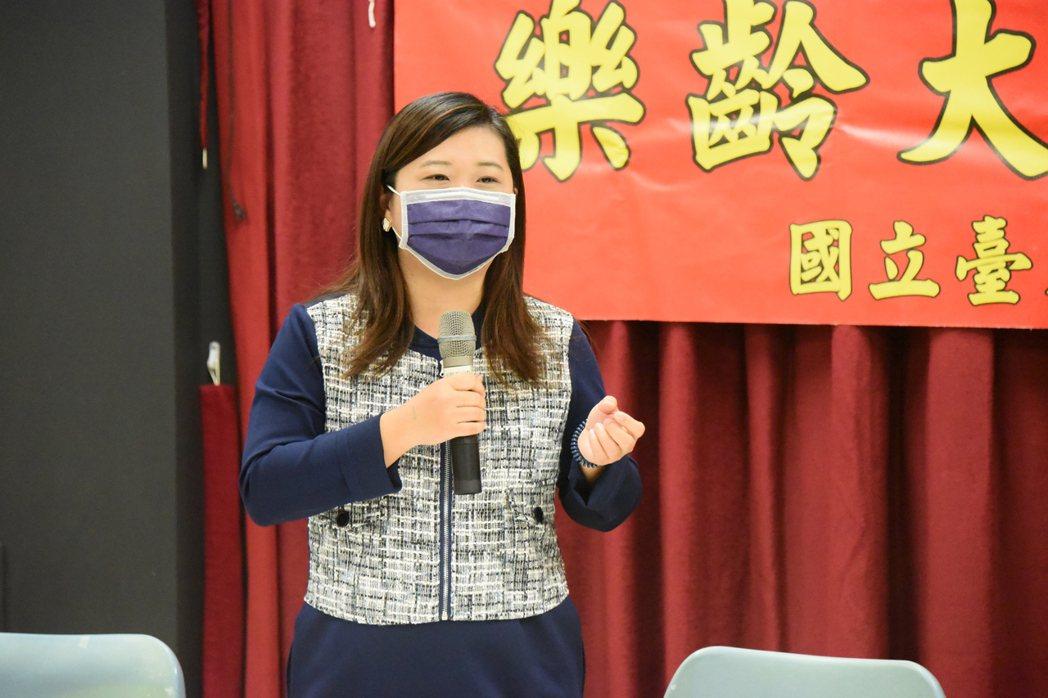 推廣教育中心主任張嘉玲。 臺東大學/提供。