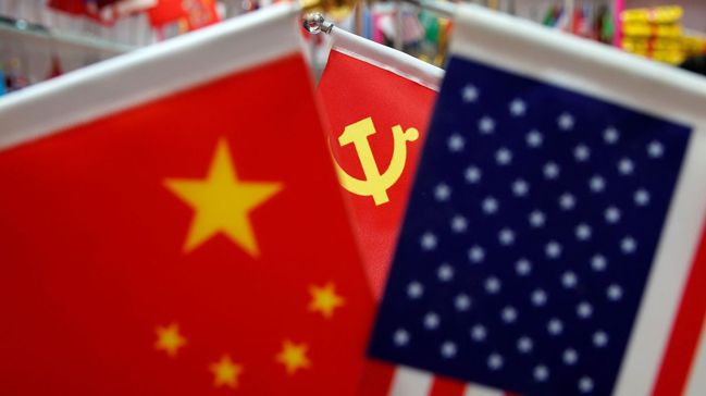 拜登政府正對中國大陸採取「長期戰略競爭 」政策。圖/路透