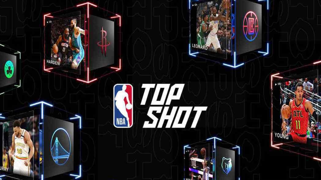 NBA Top Shot平台。(取自網路)
