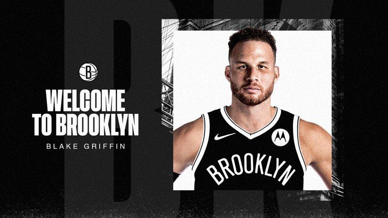 前選秀狀元葛里芬正式加盟布魯克林籃網。 截圖自籃網官方推特