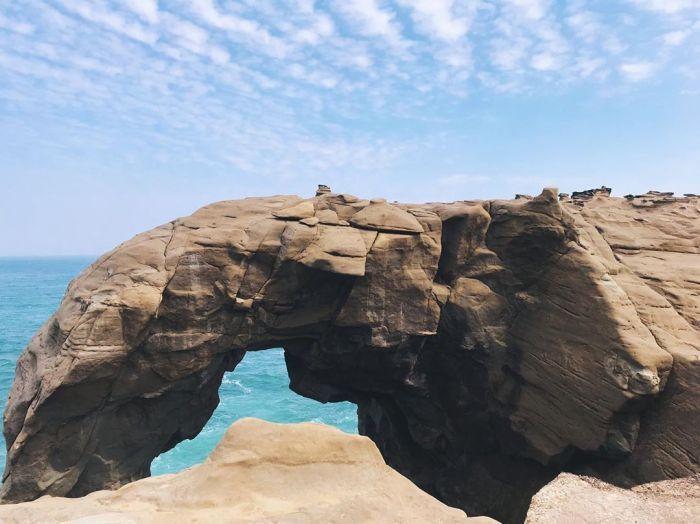 象鼻岩。 圖/IG, zoooe18
