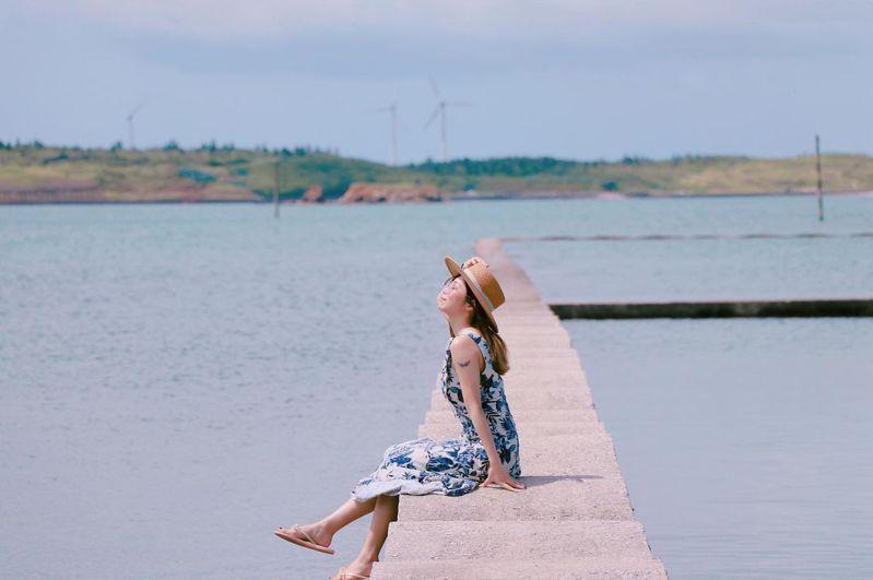 ▲澎湖秘境景點推薦-波浪海堤。 (圖/ms.huan411, Instagram)