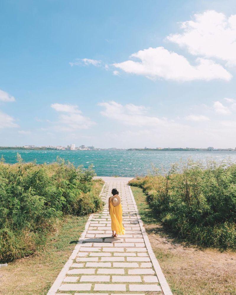 ▲澎湖秘境景點推薦-蛇頭山。 (圖/iloveu1314forever, Instagram)